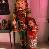 Ein Brief für den Weihnachtsmann und ein Nussknacker in Menschengröße – für Sophia, die kleine Tochter von Formel-1-Erbin Tamara Ecclestone, ist nur das Beste gut genug.
