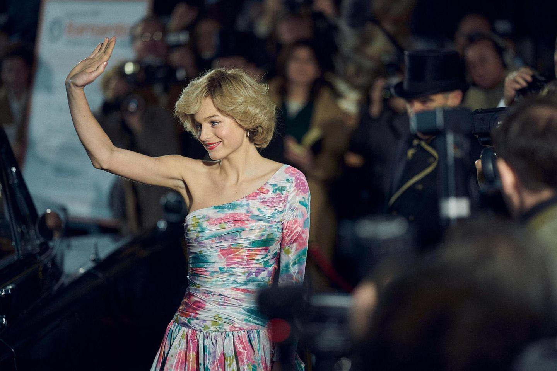 """Emma Corrin als Prinzessin Diana in der vierten Staffel von """"The Crown"""""""