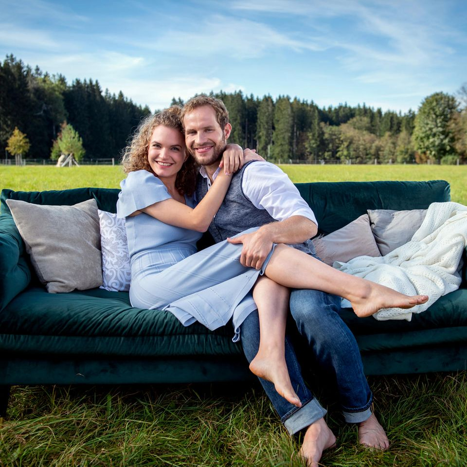 """Christina Arends und Arne Löber sind das Traumpaar der 17. Staffel """"Sturm der Liebe""""."""