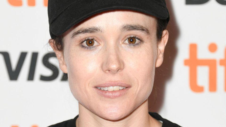 Ellen Page: auf dem roten Teppich