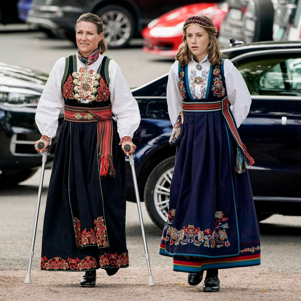 Märtha Louise und Leah Isadora Behn