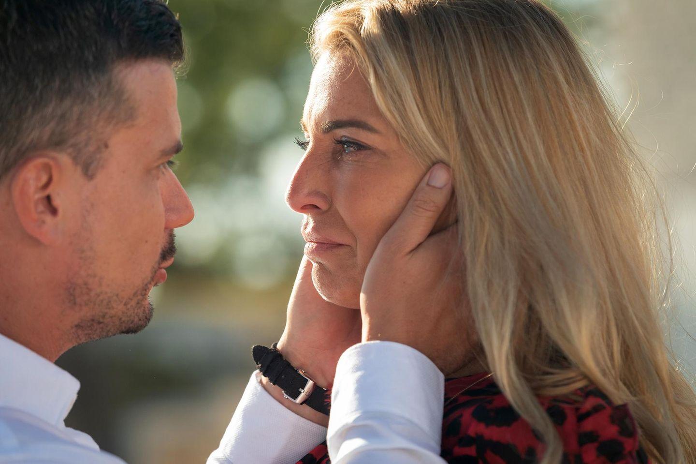 "Ludwig Heer und Giulia Siegel bei ""Temptation Island VIP"""