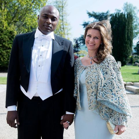 Durek Verrett und Prinzessin Märtha Louise von Norwegen