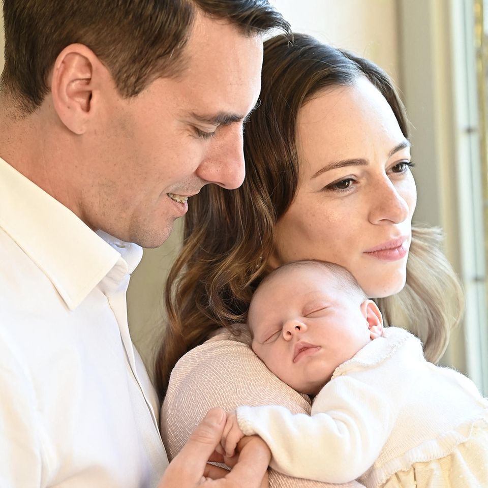 Nicholas, Alina-Marie und die kleine Maria Alexandra