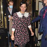 Lily Allen kommt im Blümchenkleid zum Date