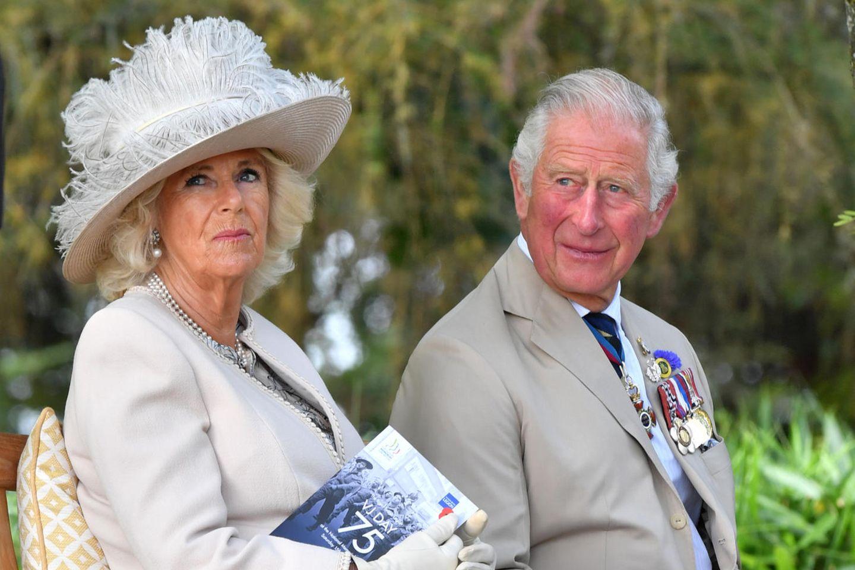 Herzogin Camilla, Prinz Charles
