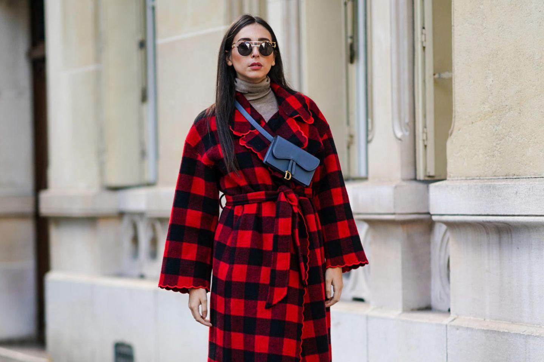 Von wegen altbacken!: So stylen echte Fashionistas das Karo-Muster diesen Winter