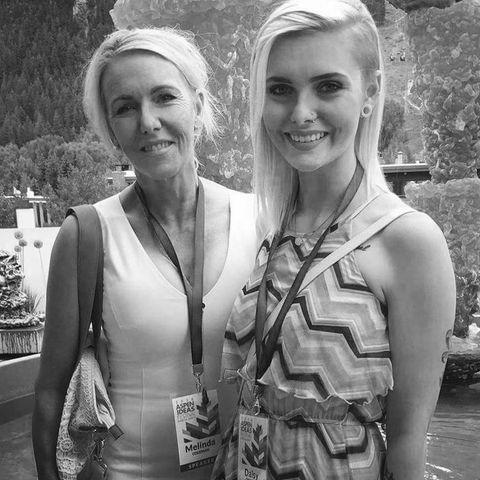 Melinda Coleman und ihre Tochter Daisy
