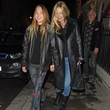 Lila Grace und Kate Moss im Partnerlook