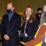 Dort würdigt das royale Paar die Arbeit von Helfern der britischen Tafel-Organisation FareShare.