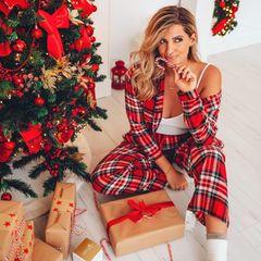 Schon Anfang Dezember ist Sarah Harrison voll in Weihnachtsstimmung und hat bereits die ersten Geschenke verpackt.