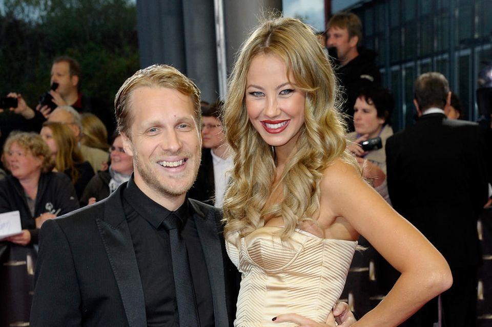 Hier waren sie noch ein Paar: Oliver Pocher und Alessandra Meyer-Wölden beim Deutschen Fernsehpreis 2012 in Köln