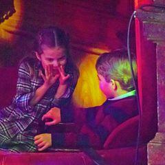 Ob Prinzessin Charlotte und ihr Bruder Prinz George sich auch im Pantomimenspiel üben? Sicherlich sind sie dabei jedoch nicht ganz so still.