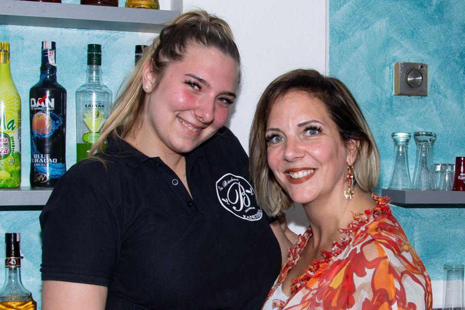 Danni Büchner mit Tochter Joelina