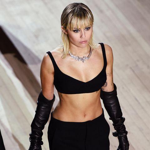 Beauty-Trends 2021: Miley Cyrus trägt die Frisur des Jahres