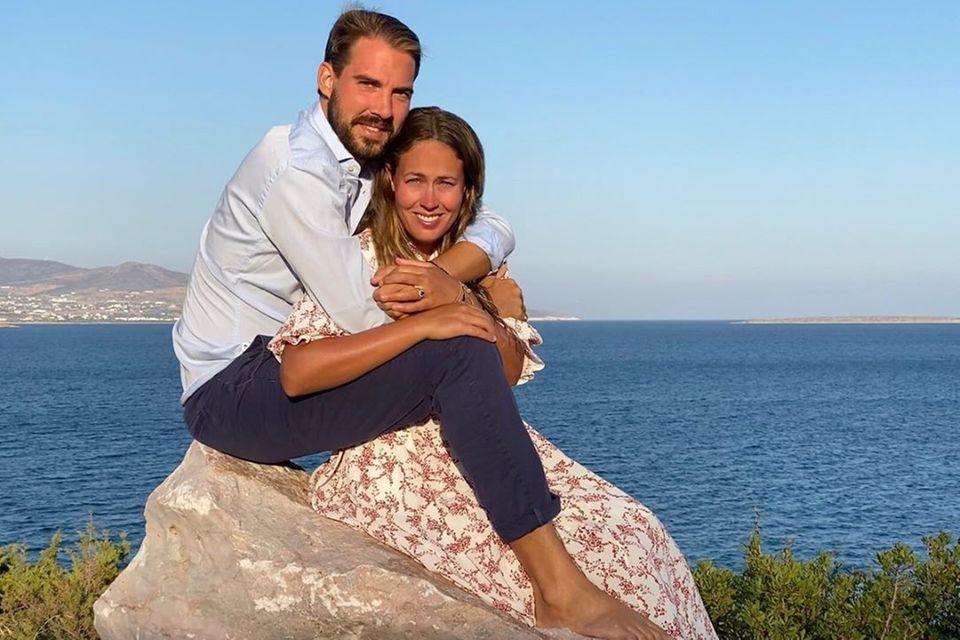 Prinz Philippos und Nina Flohr haben geheiratet.