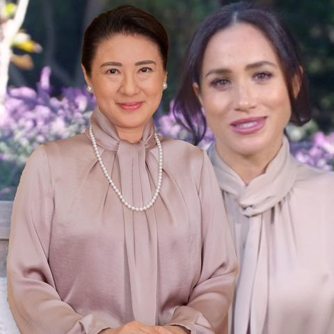 Kaiserin Masako + Herzogin Meghan