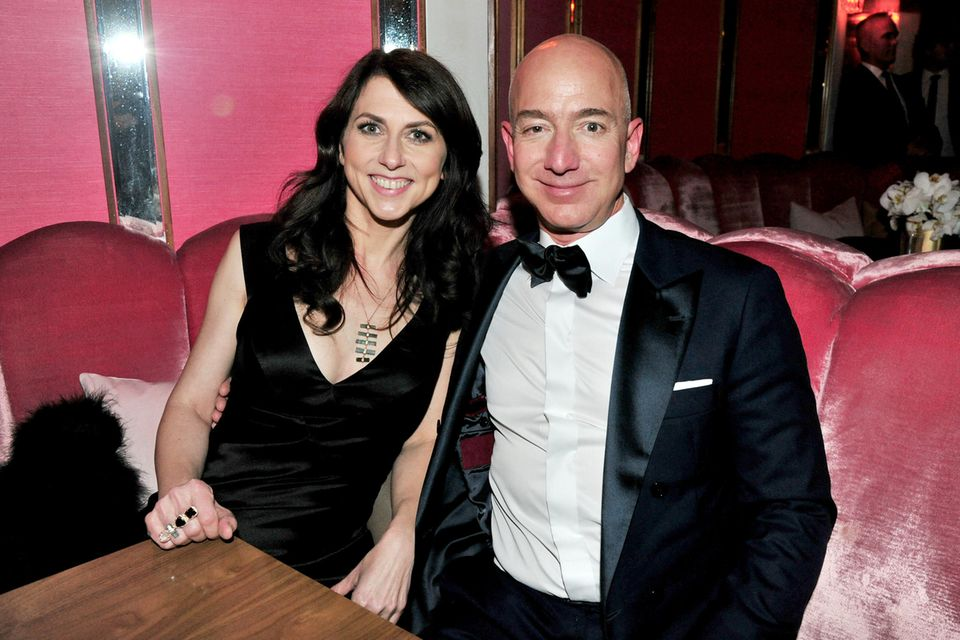 MacKenzie Scott und Jeff Bezos