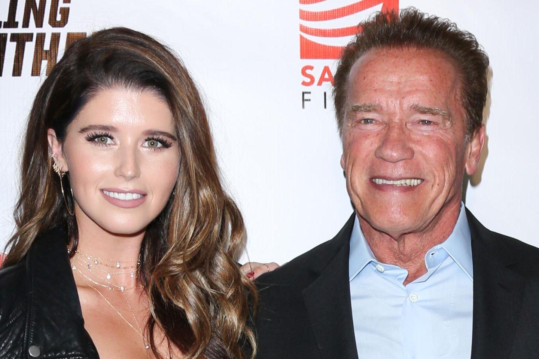 Katherine und Arnold Schwarzenegger
