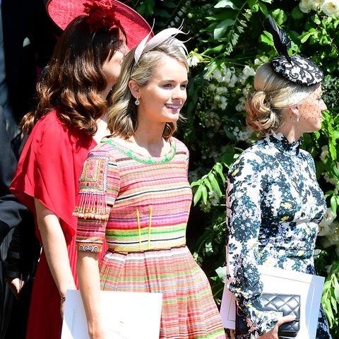 Cressida Bonas bei der Hochzeit von Prinz Harry und Meghan Markle auf Schloss Windsor.