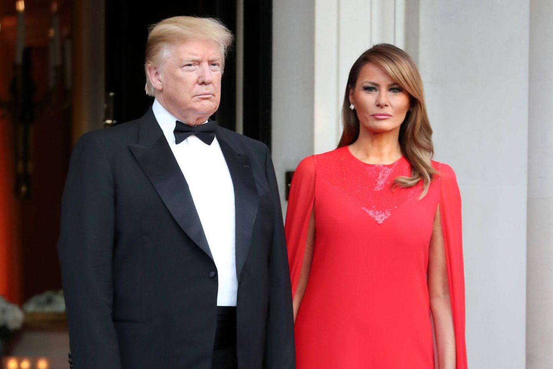 Donald Trump mit Ehefrau Melania