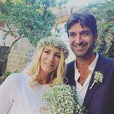 Sarah Kern und Matthew Cardona  Frisch verheiratet: Sarah Kern und Unternehmer Matthew Cardona haben sich am 10. Oktober in Malta das Jawort gegeben.