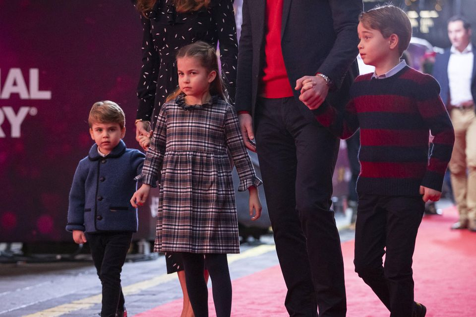 Prinz Louis, Prinzessin Charlotte und Prinz George