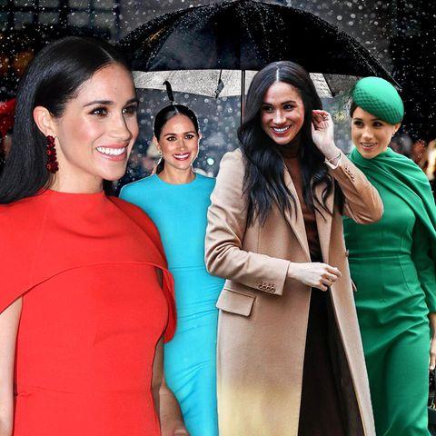 Jahresrückblick 2020:Das sind die schönsten Looks von Herzogin Meghan