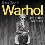 """Buchtipps der Redaktion: Buchcover """"Warhol – Ein Leben als Kunst"""""""