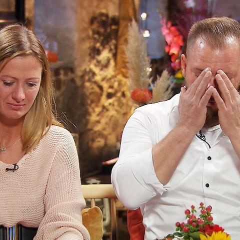 """Denise und Sascha vertrauen sich nicht mehr - zu sehen bei """"Bauer sucht Frau"""" auf RTL und TVNow."""