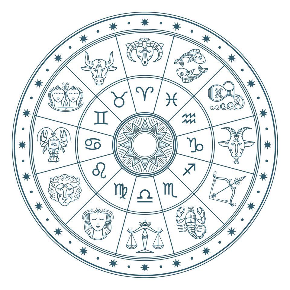 Deszendent: Tierkreiszeichen im Tierkreis