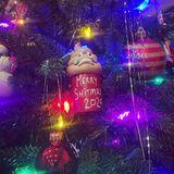 """""""Merry S***mas 2020"""": Die Weihnachtsdeko von Topher Grace spricht sicherlich vielen dieses Jahr aus der Seele. Die Fans des Serienstars aus """"Die wilden Siebziger"""" sind sich jedenfalls einig und überhäufen seine Instagram-Kommentarspalte mit lachenden Emojis."""