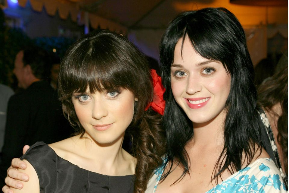 Zooey Deschanel und Katy Perry