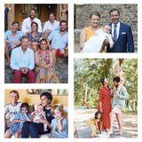 """Dort erscheint eine schöne Collage mit teils privaten Familienbildern der Großherzogsfamilie. Dazu schreibt der luxemburgische Hof auf Facebook: """"Der Großherzog und die Großherzogin wünschen Ihnen allen frohe Weihnachten und ein gutes neues Jahr 2021."""""""