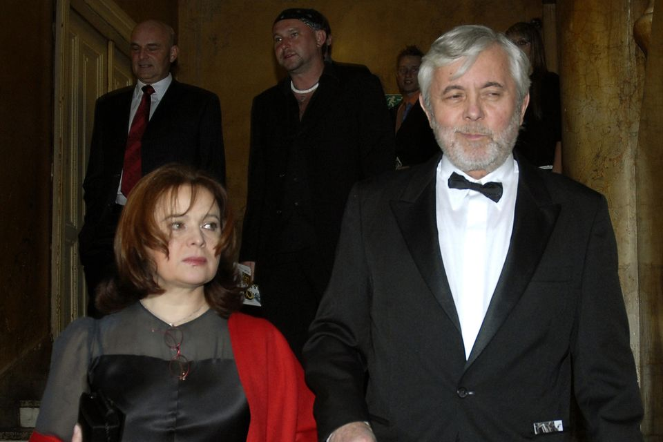 Libuše Šafránková und ihr MannJosef Abrhám bei einer Veranstaltung 2007 in Prag