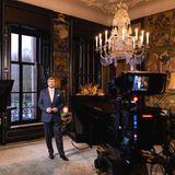 22. Dezember 2020  König Willem-Alexander nimmt seine diesjährige Weihnachtsanspache im chinesischen Saal auf Schloss Huis ten Bosch auf. Die Rede wird am ersten Weihnachtsfeiertag (25. Dezember) im niederländischen Fernsehen ausgestrahlt.