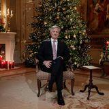15. Dezember 2020  König Philippe von Belgien zeichnet seine traditionelleWeihnachtsansprache 2020 im Palast in Brüssel auf, die zu Weihnachten am 24. Dezember 2020 ausgestrahlt wird.