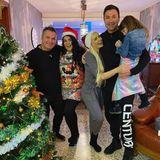 Daniela Katzenberger feiert das Fest der Liebe in diesem Jahr mit Stiefpapa Peter, Mama Iris und natürlich mit Mann Lucas Cordalis und Tochter Sophia.