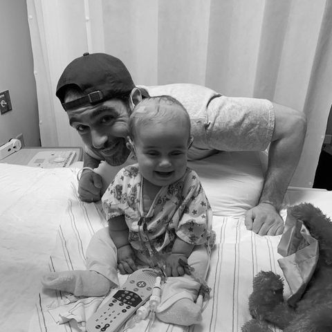 CNN-Reporter Andrew Kaczynskiund seine Tochter Francesca (†)