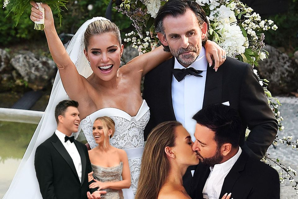 Jahresrückblick 2020: Die schönsten Verlobungen und Hochzeiten der Stars