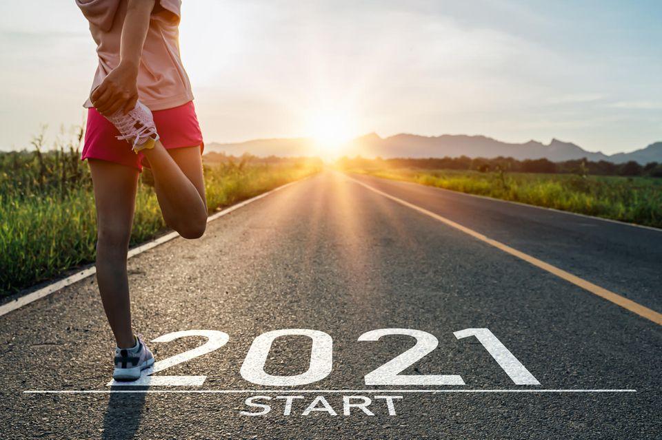 Läufern startet ins Jahr 2021