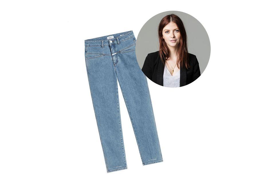Moderedakteurin Hannah hatte 2020 eine Mission: die perfekte Jeans zu finden. Glücklicherweise hat sie auf den letzten Metern noch Erfolg gehabt... Und zwar so richtig!