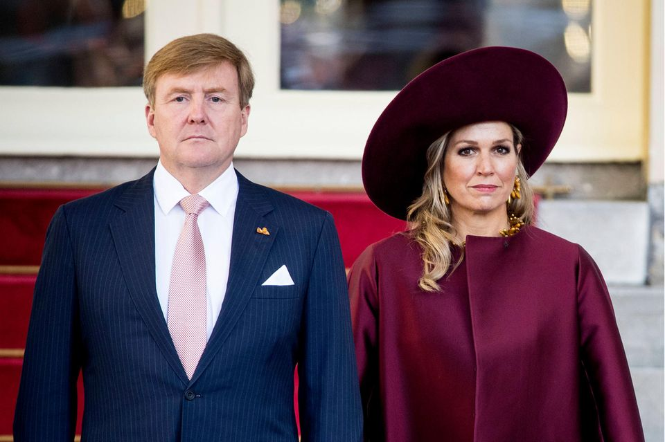 König Willem-Alexander undKönigin Máxima