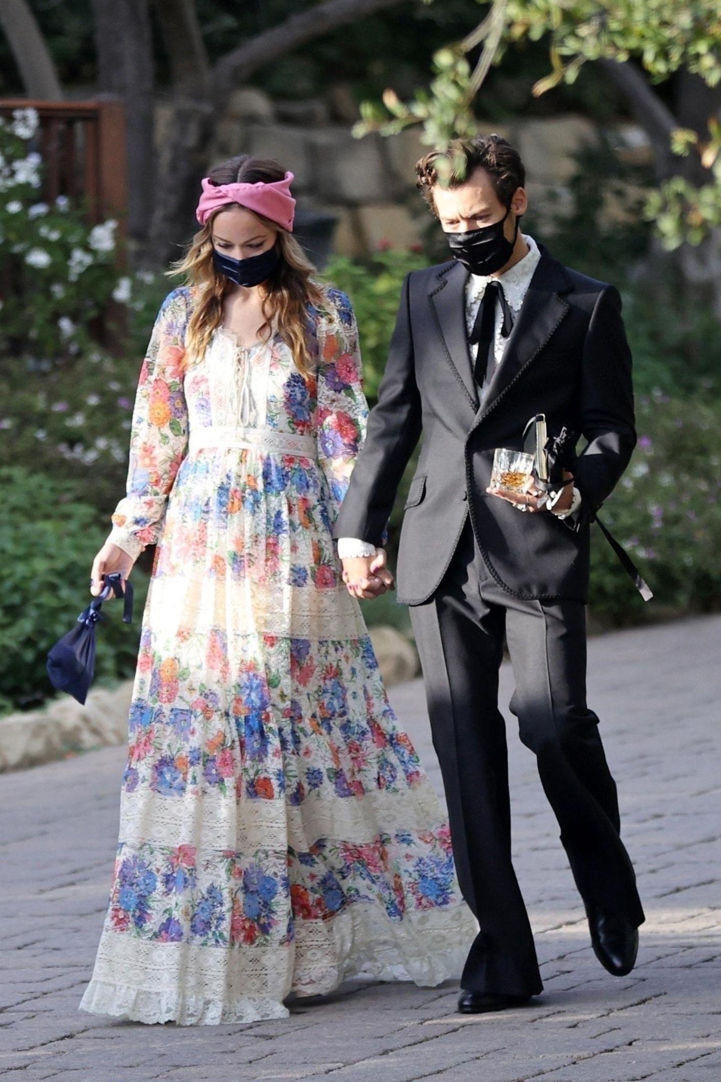 prominente hochzeitsgäste: die wedding-looks der stars und