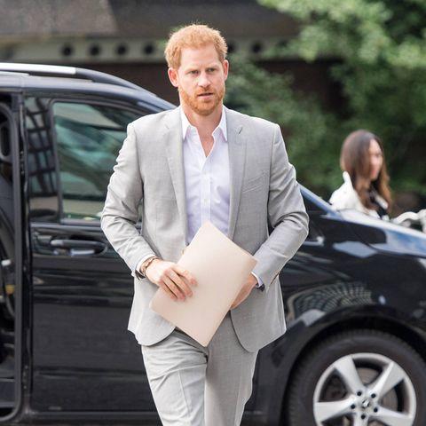Prinz Harry bei einem Termin 2019.