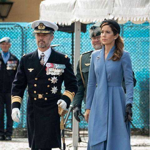 Prinz Frederik und Prinzessin Mary