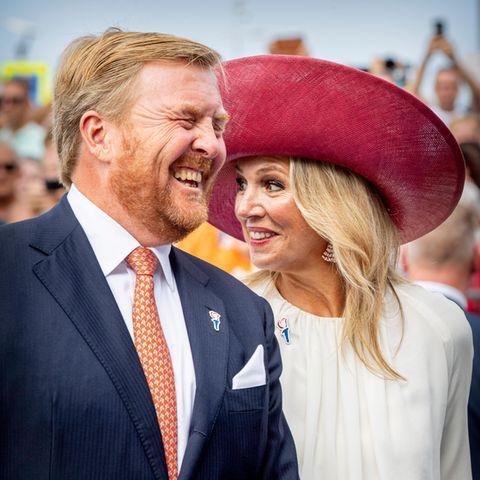 König Willem-Alexander + Königin Maxima