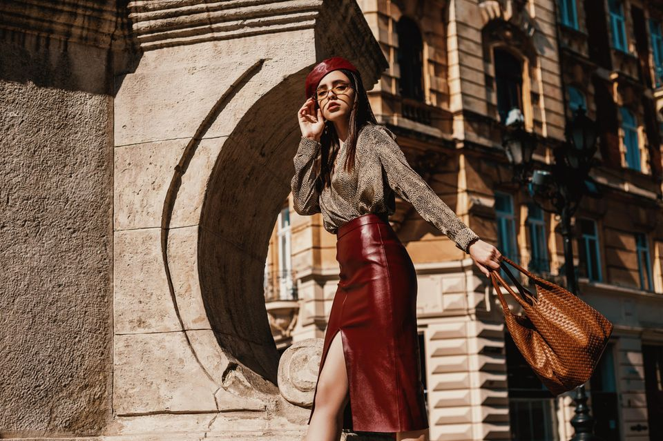 Pencil Skirt: Der Klassiker stylisch kombiniert, Frau, Fashion, Bleistiftrock