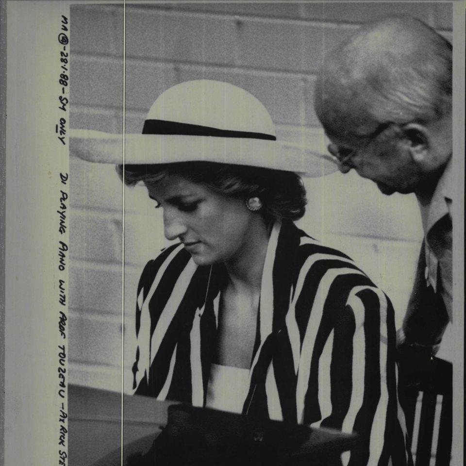 Prinzessin Diana und Prof. Touzeau