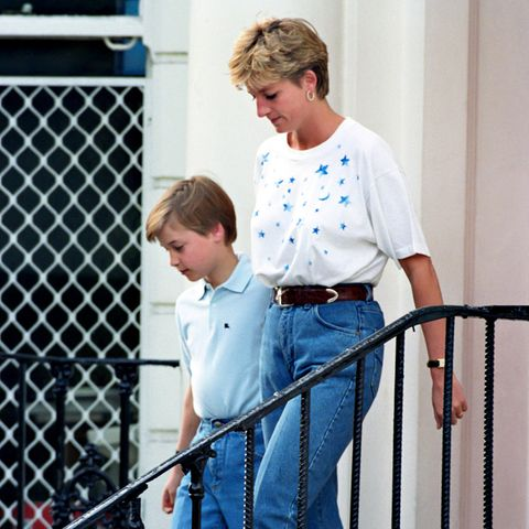 Prinz William und Prinzessin Diana